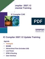 2007 12 ICC Incremental Training