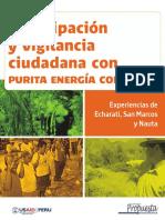 Participación y Vigilancia Ciudadana Con Purita Energía Colectiva
