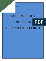 Cuaderno de Educación Física