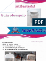 Gel Antibacterial guia
