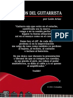 ORACIÓN DEL GUITARRISTA por León Arias