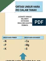 Tansportasi unsur hara makro dalam tanah (2).pptx
