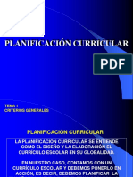 PLANIFICACION+CURRICULAR