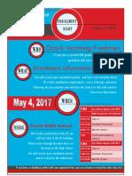 Enrollment Night Flyer 2017