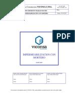 PTS 16 020 Impermeabilización