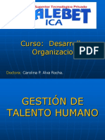 Clase 1 - Gestion de Talento Humano - Introduccion