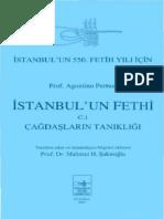 Agostino Pertusi - İstanbulun Fethi C.1