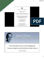 Federalism Ongpin