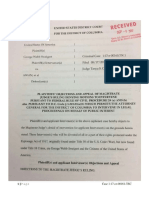 USA George Webb vs Awan Et Al Request for Reconsideration With Stamp Filed Pages