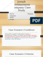 Joseph Freidanemetz Company Case Study