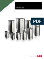 ABB ACS880 Firmware
