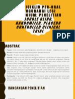 Doksisiklin Per-Oral Mengurangi Lesi Pterigium