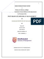 Summer Internship Project Report in Reliance Jio