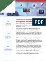 Simplify digital workspace management for admins