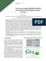Vibration Analysis of Siemens v94 Gas Turbine
