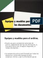 Equipos y Muebles Para Archivar