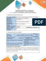 Guía de Actividades y Rúbrica de Evaluación - Fase 2 - Economia Solidaria