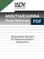 ANSI/TIA/EIA/606A