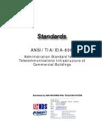 Cabling Standard - TIA 606
