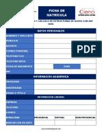 Ficha - Diseño y Cálculo de Estructuras