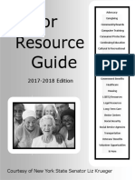 Senator Krueger's Senior Resource Guide 2017-2018