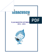 A.plan Maestro Optimizado 2012-2016 Sedacusco