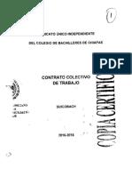 Contrato Colectivo de Trabajo 2016_2018
