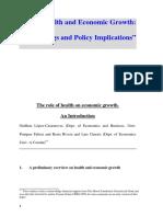 Health Economic Growth