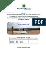 04. Ampliación de La Subestación Tarapoto