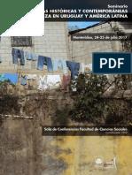 Seminario Miradas Sobre Pobreza Programa(1)