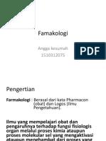 Angga Kesumah 1510312075 Farmakologi