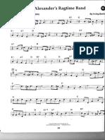 Alexanders Ragtime Band T.sax