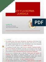 FILOSOFÍA DEL DERECHO LECCIÓN 7 la norma juridica.pdf