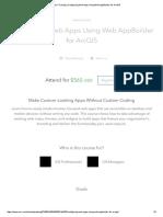 Esri Training _ Configuring Web Apps Using Web AppBuilder for ArcGIS