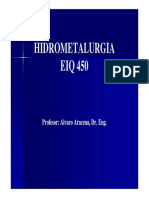 Hidrometalurgia Clase 1