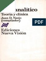 Juan David Nasio - Acto psicoanalítico.pdf