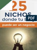 Ebook_ 25 Nichos Donde Tu Blog Puede Ser Rentable