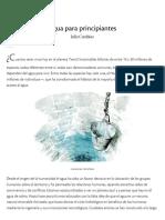 Agua Para Principiantes _ Nexos
