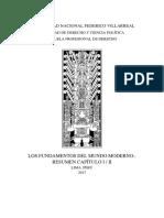 Los Fundamentos Del Mundo Moderno - Resumen Capítulo III, IV, V / Ruggiero Romano