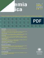 Academia y Crítica - Otoño 2017