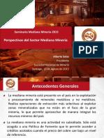 01. Alberto Salas Perspectivas Del Sector Mediana Minería. Seminario MEDMIN 2015