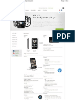 HTC Specification