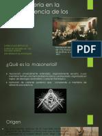 Unidad 4 La Masonería en La Independencia - Karen Salas