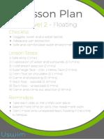 Level 2 Uswim Lesson Plan
