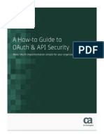 How to Guide to Oauth and API Security