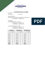 Test Caracteriológco de Le Senne