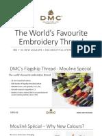 New DMC Colours