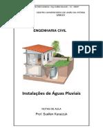 Instalações de Águas Pluviais