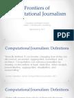 Computational Journalism 2017 Week 1