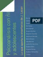 Psicoanálisis Con Niños y Adolescentes-Goldber y Stoisa Comp.